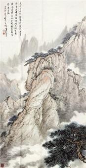 山水 by qi zhicai