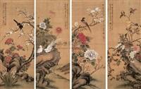 flower (+ 3 others; 4 works) by zhou yigui