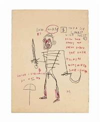 untitled (rome) by jean-michel basquiat