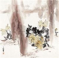 菊花 by liu wensheng