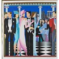 an evening to remember, show time, ball room and after the wedding (4 works) by giancarlo impiglia