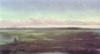 a reed bog, connemara by wilfrid vincent herbert