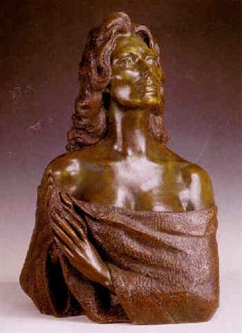 busto de la cantante rocio jurado by juan de avalos
