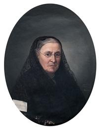 retrato de dama by augusto manuel de quesada