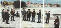 little orchestra (triptych) by tatiana nazarenko
