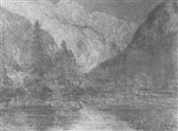 konigssee by wilhelm runze