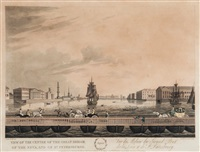 a picture of st. petersberg... (12 works) by henri mornard