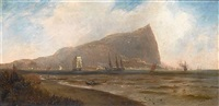 the rock of gibraltar by charles ward