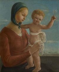 madonna con bambino by umberto mariotti