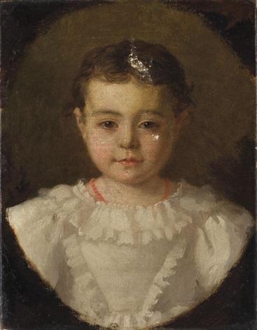 portrait de camille blanche by emma adèle blanche roslin