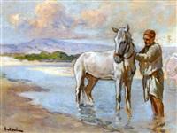 le jeune cavalier by louis-ferdinand antoni