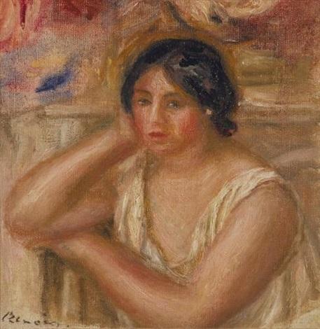 portrait de gabrielle by pierre auguste renoir