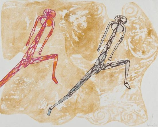 dancers by nancy spero