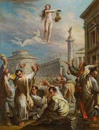 apotheose des augustus by anonymous-italian