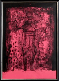affiche avant lettre from the mujer suite by rufino tamayo