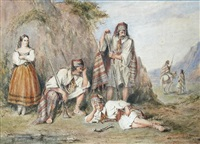 bandits resting by henry melling