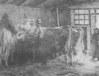 im stall by wilhelm runze
