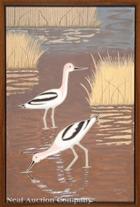 avocets by james mcconnell anderson