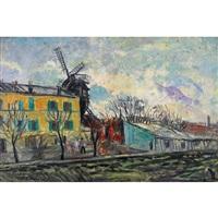 le moulin de la galette by charles camoin