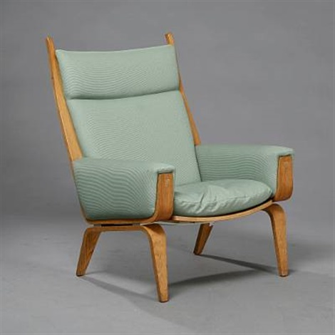 easy chair model ge 501 by hans j wegner on artnet