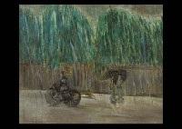 rain in yanaka by hitone noma