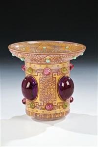 seltene vase aus der luxusserie der