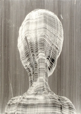 head of a woman by miriam cabessa