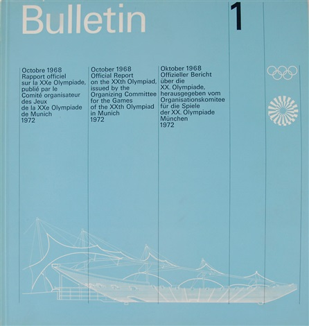 sieben olympia bulletins in 7 parts by otl aicher