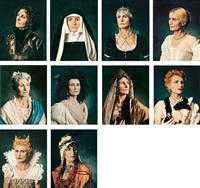 donne illustri (set of 10) by irene andessner