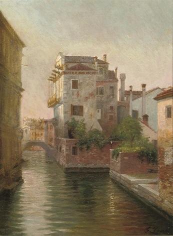 rio di santagostin venice by gustav zaak
