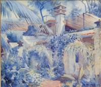 coconut grove, florida by howard hilder