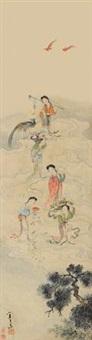 天女散花 by wang su