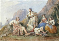 greek bandits after a fight by henry melling