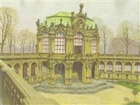 wallpavillon des zwingers in dresden by bedrich wachsmann