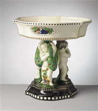 figural centerpiece by julius dressler