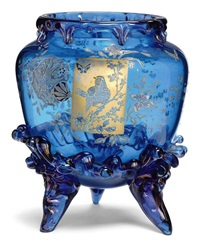 japanesque vase by auguste jean