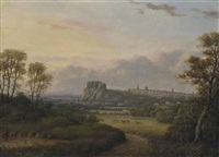 a view of edinburgh from bruntsfield by patrick nasmyth