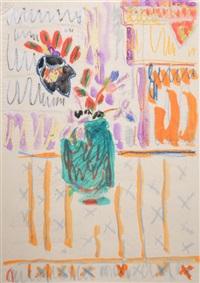 schwarze christrose in ubbelohdes garten by elisabeth ahnert
