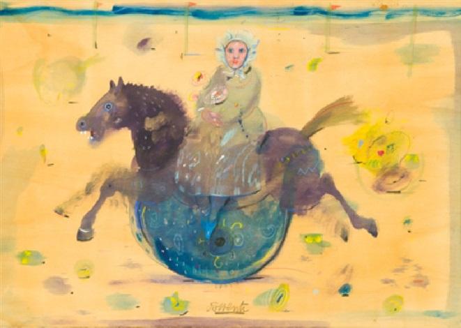 cavallo a dondolo by antonio possenti