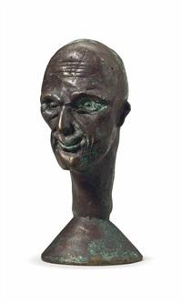 schokokopf (chocolate head) by thomas schütte