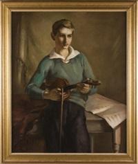 portrait by dorothy hart drew