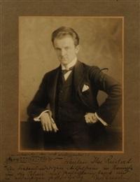 portrait des dirigenten edwin lindner by hugo erfurth