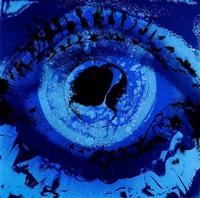blue eye blue by otto piene