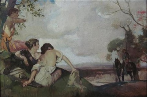 a mythological scene by william russell flint