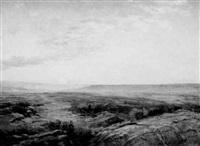 sunrise over the arizona desert by bertha menzler peyton