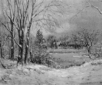 first snow by arthur turnbull hill