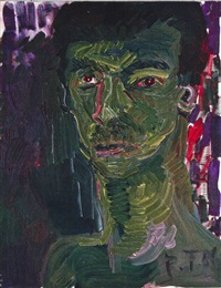 senza titolo by rainer fetting
