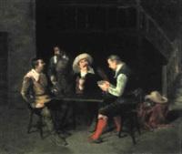 mosqueteros jugando a las cartas by vicente campesino y mingo
