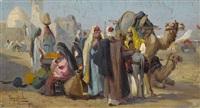 arabische marktszene by tony binder