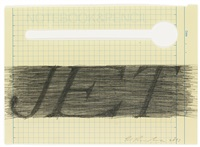 extended jet (d.2013.31) by ed ruscha